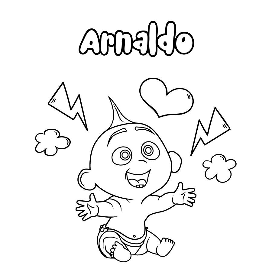 Dibujo de Arnaldo