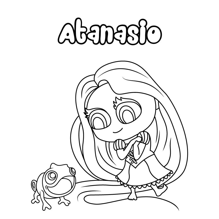 Dibujo de Atanasio