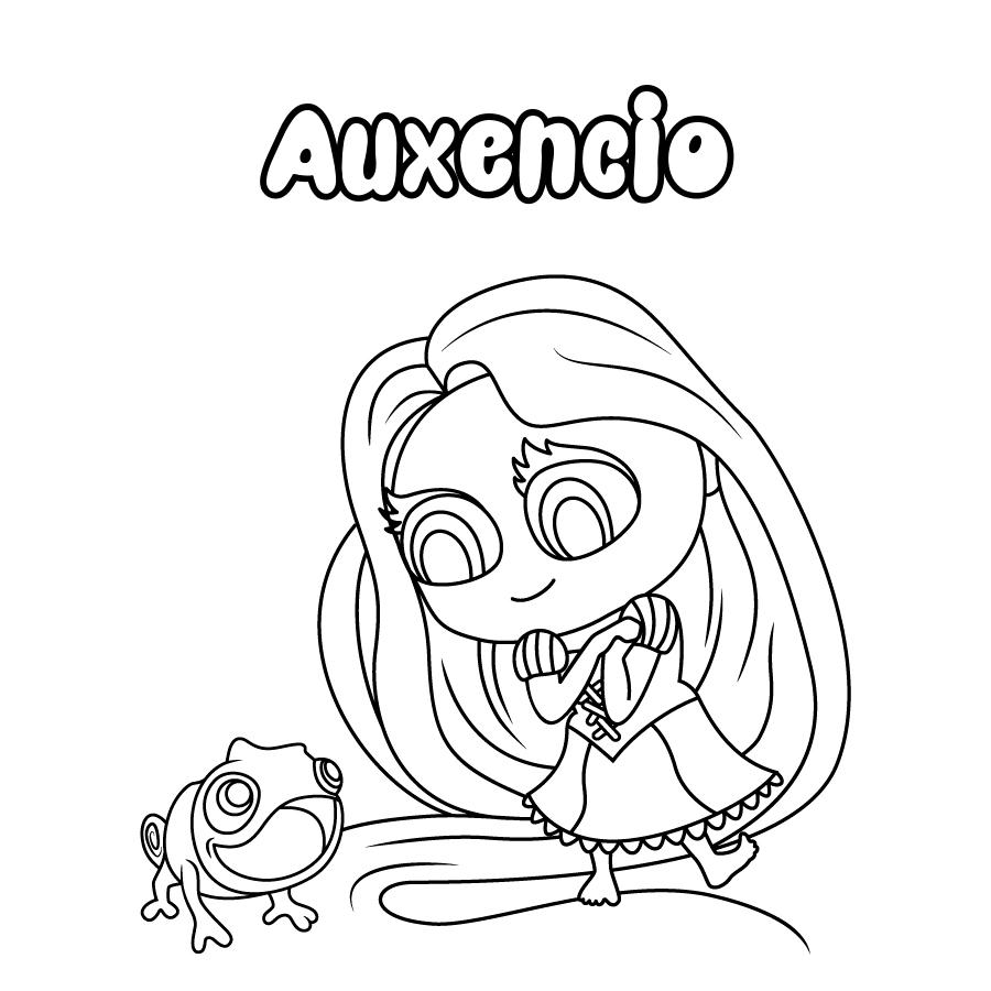 Dibujo de Auxencio