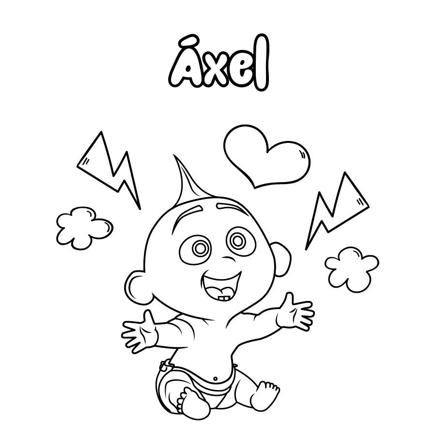 Dibujo de Áxel