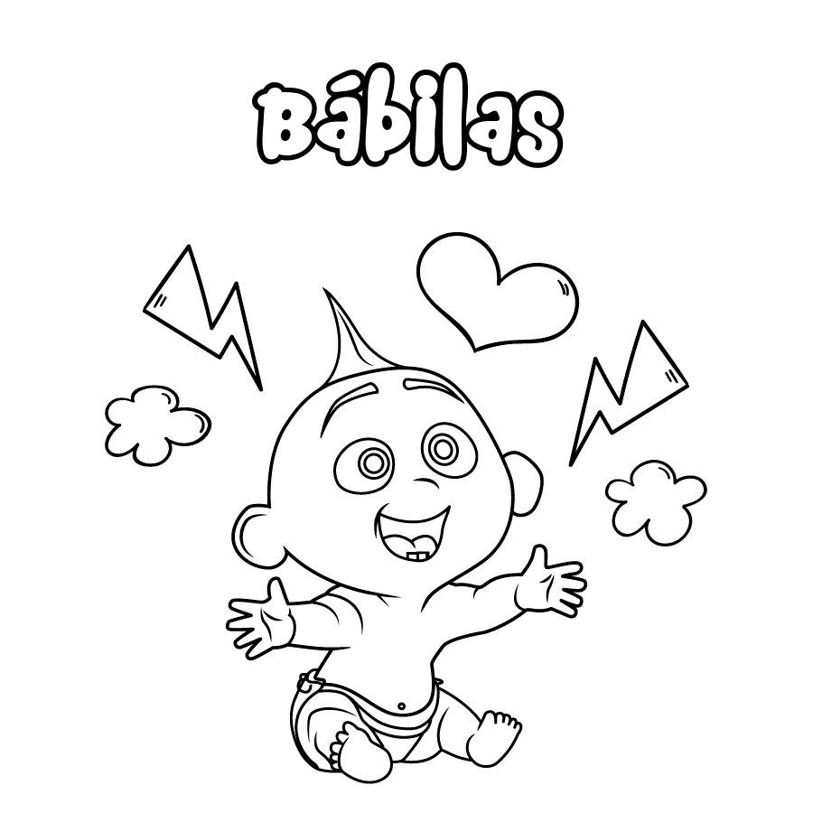 Dibujo de Bábilas