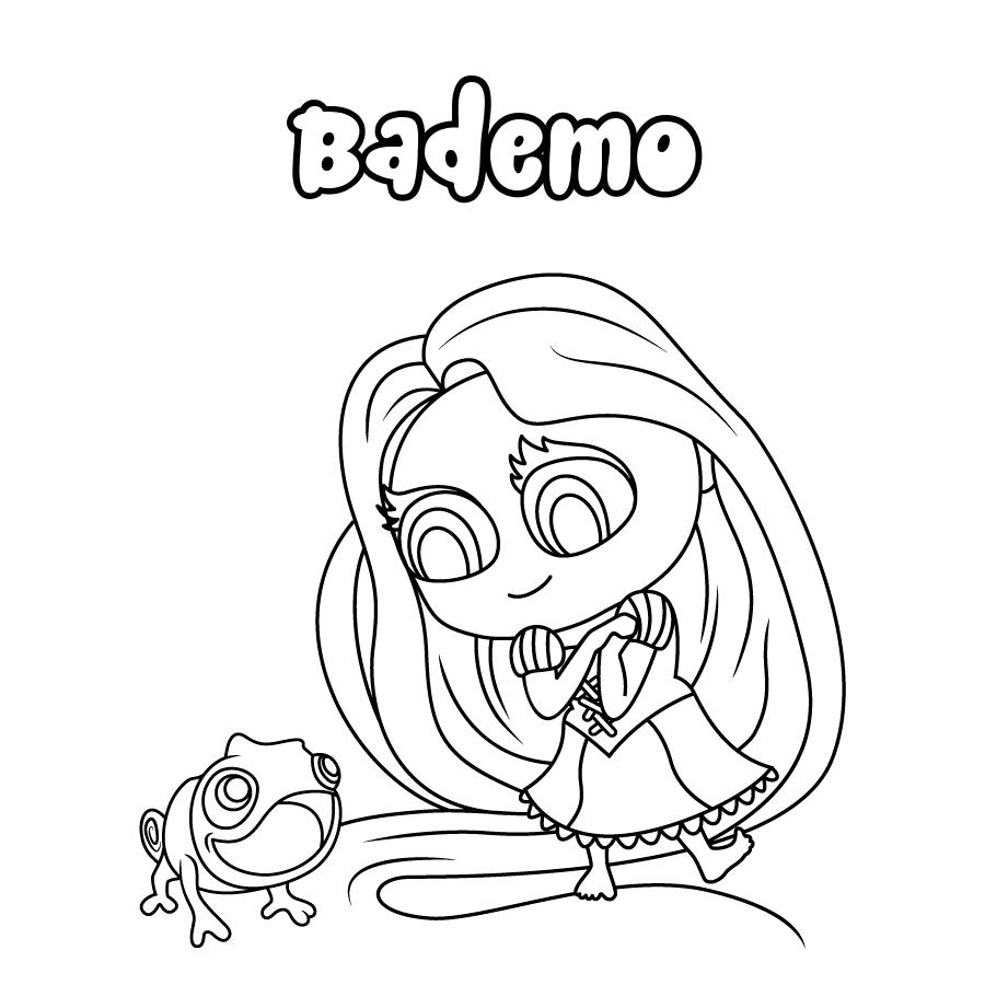Dibujo de Bademo