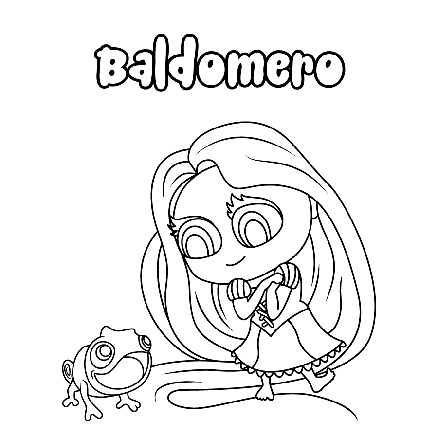 Dibujo de Baldomero