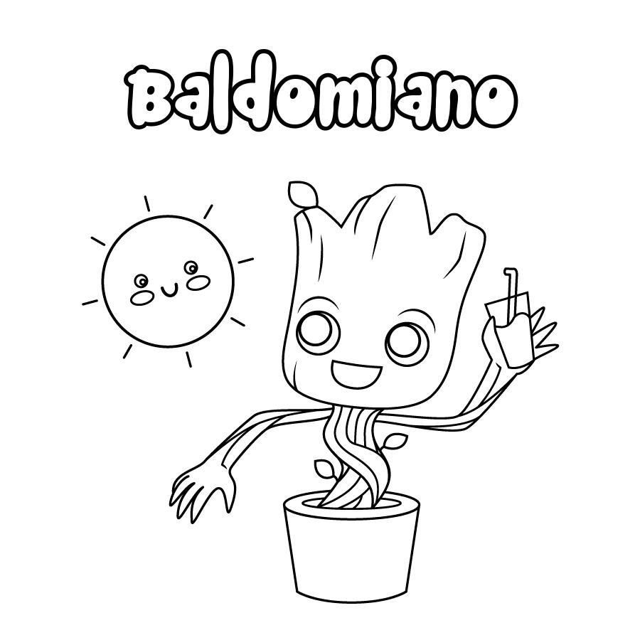 Dibujo de Baldomiano