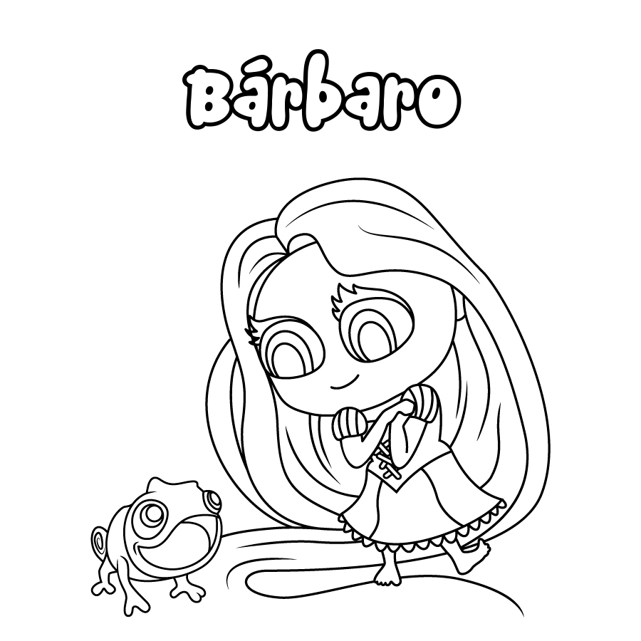 Dibujo de Bárbaro