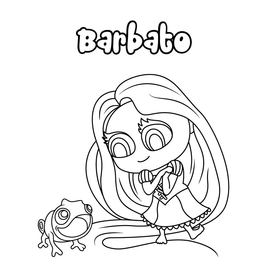 Dibujo de Barbato