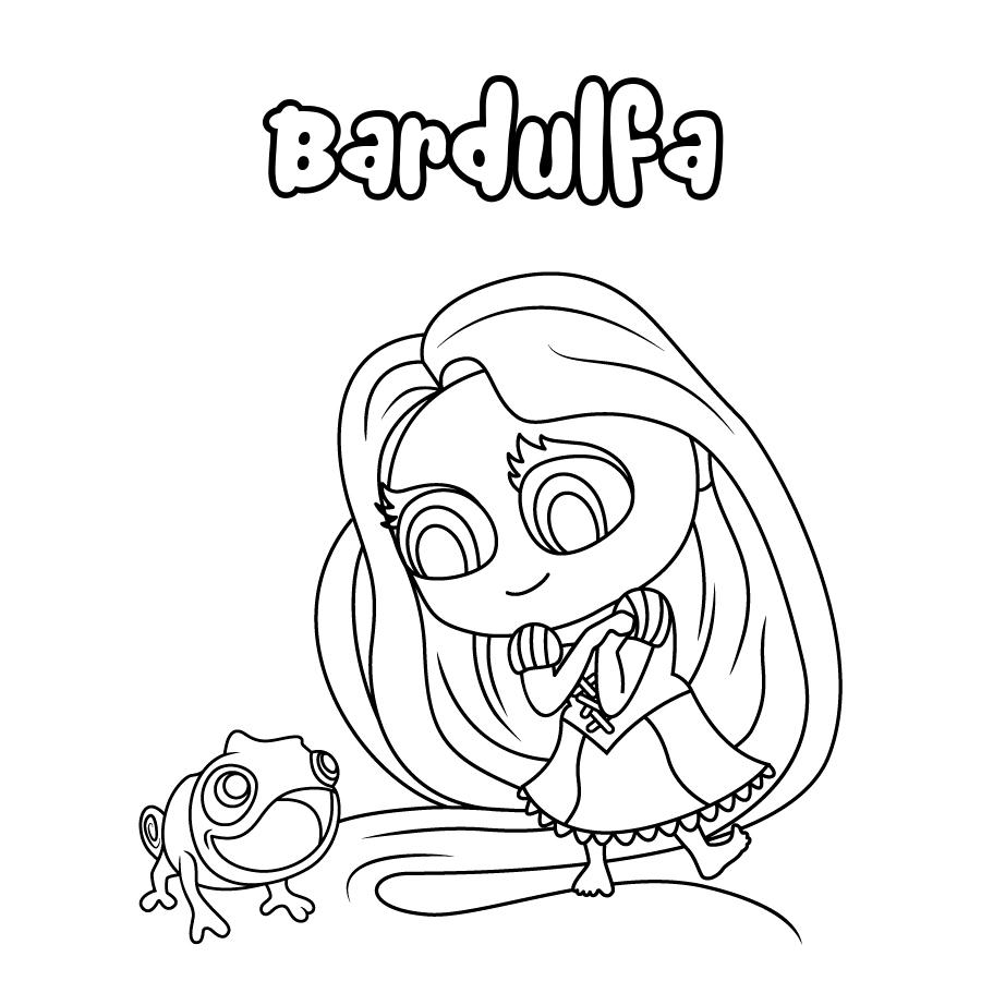 Dibujo de Bardulfa