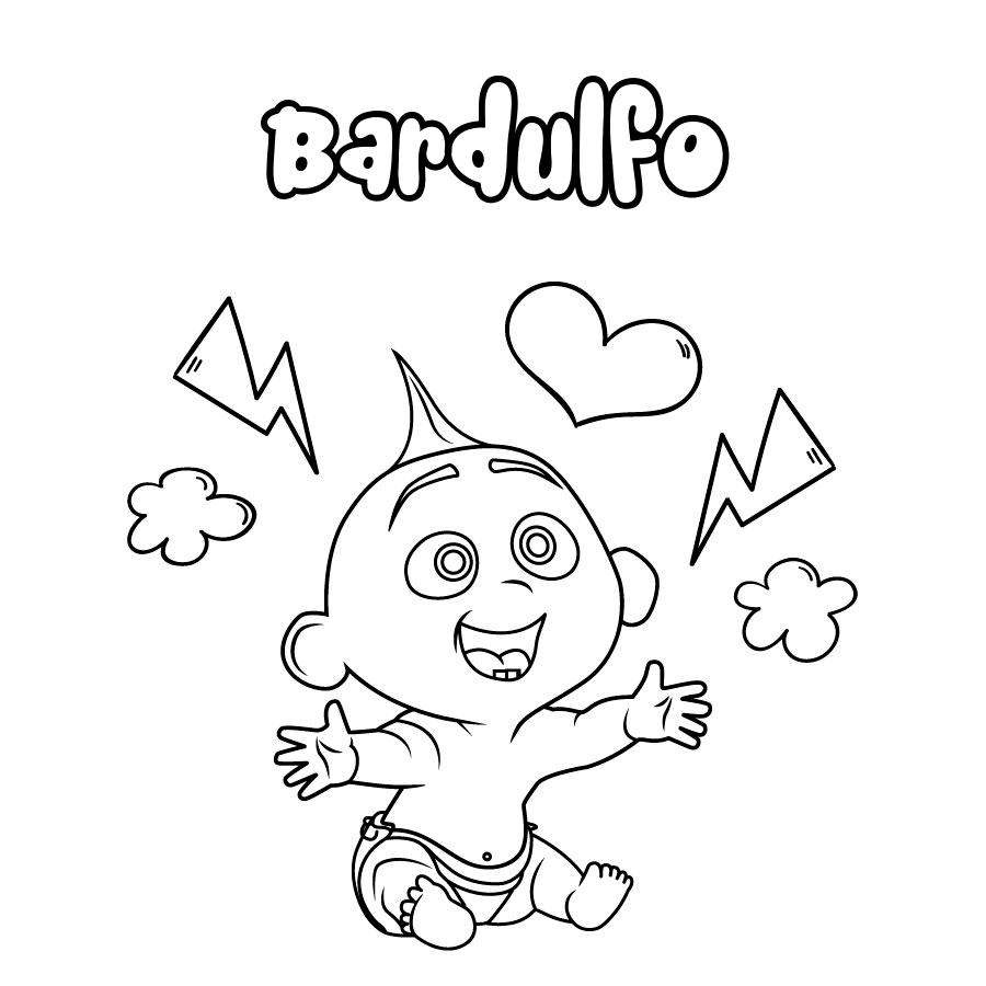 Dibujo de Bardulfo