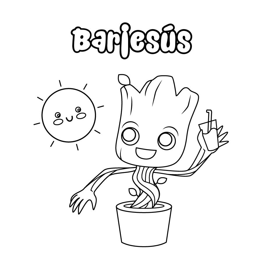 Dibujo de Barjesús