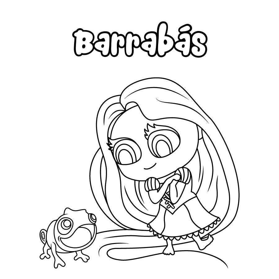 Dibujo de Barrabás
