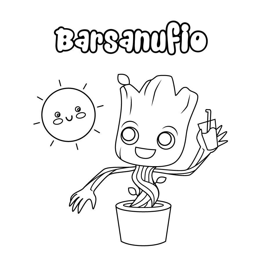 Dibujo de Barsanufio