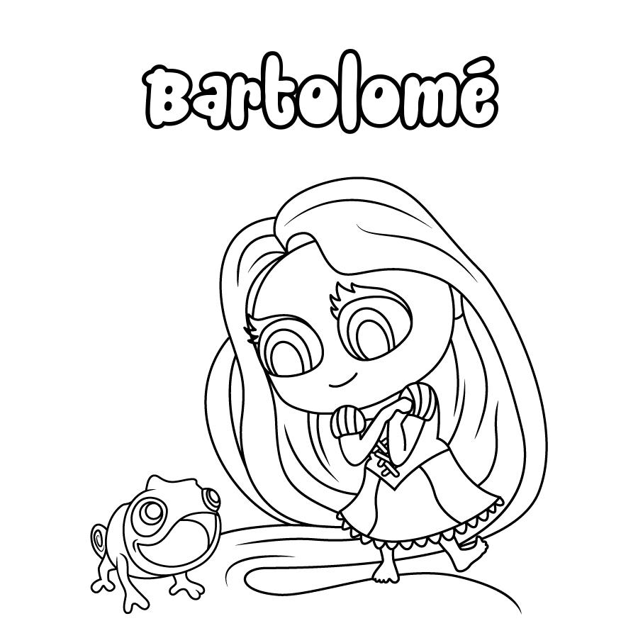 Dibujo de Bartolomé