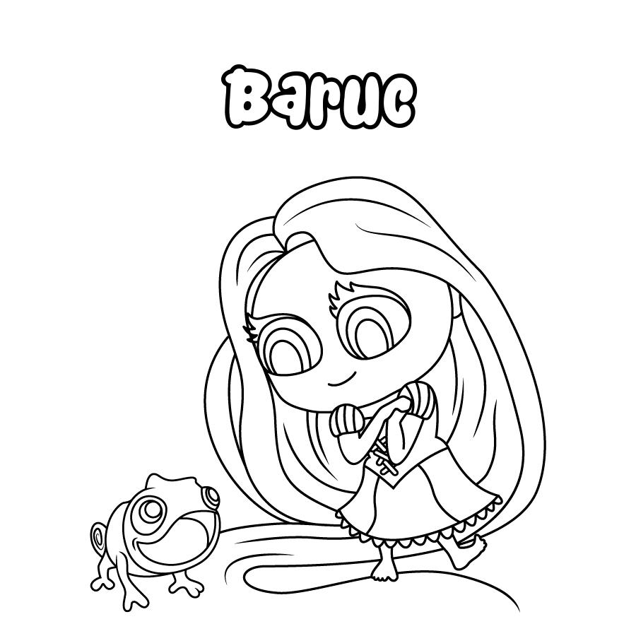 Dibujo de Baruc