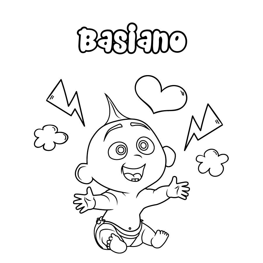 Dibujo de Basiano