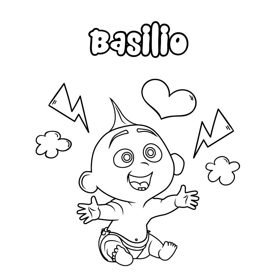 Dibujo de Basilio