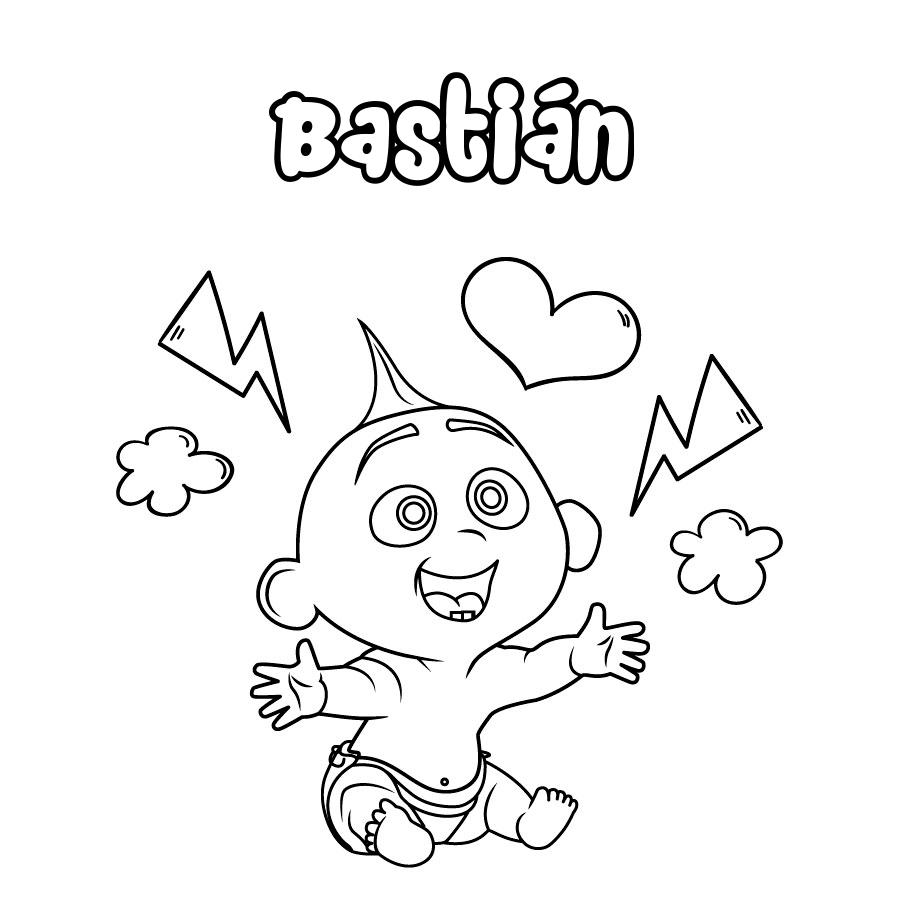 Dibujo de Bastián
