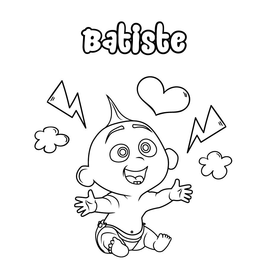 Dibujo de Batiste