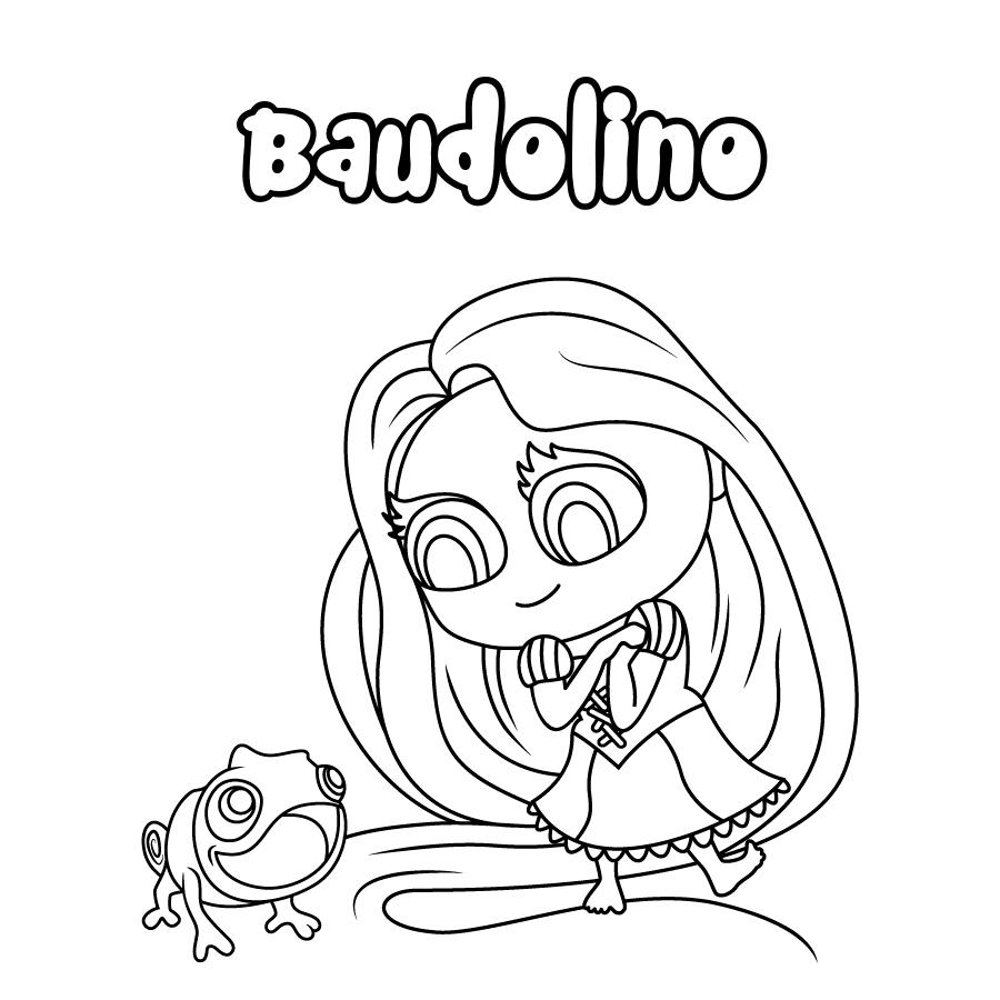 Dibujo de Baudolino