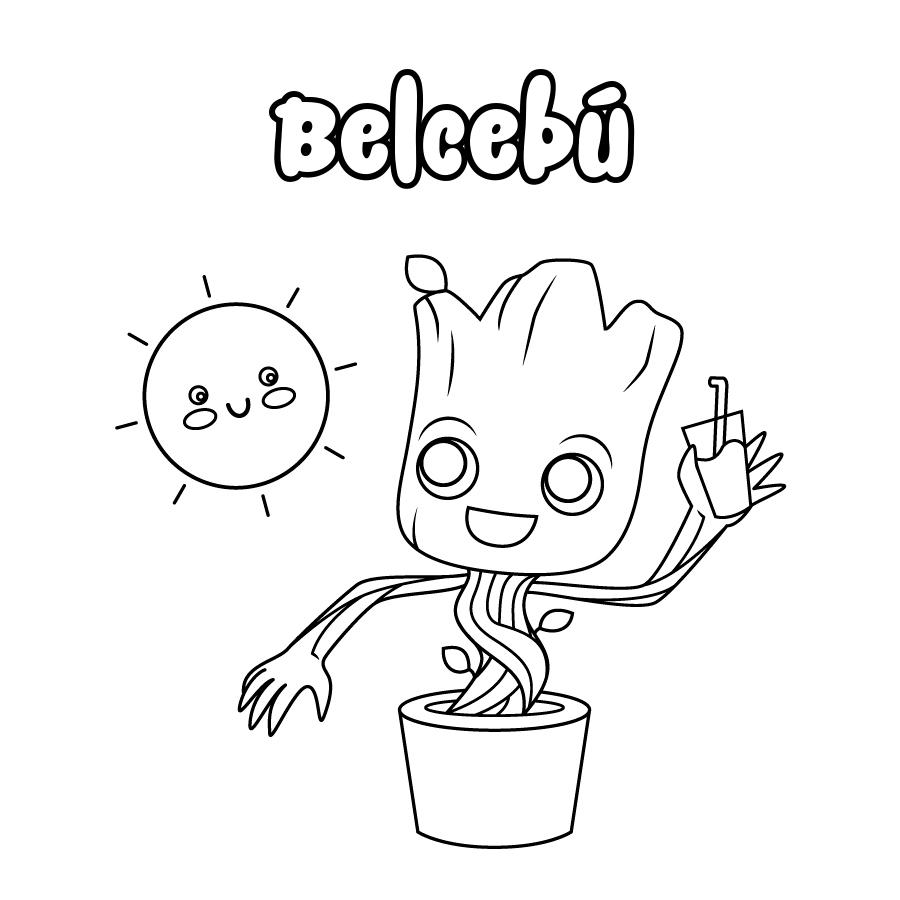 Dibujo de Belcebú