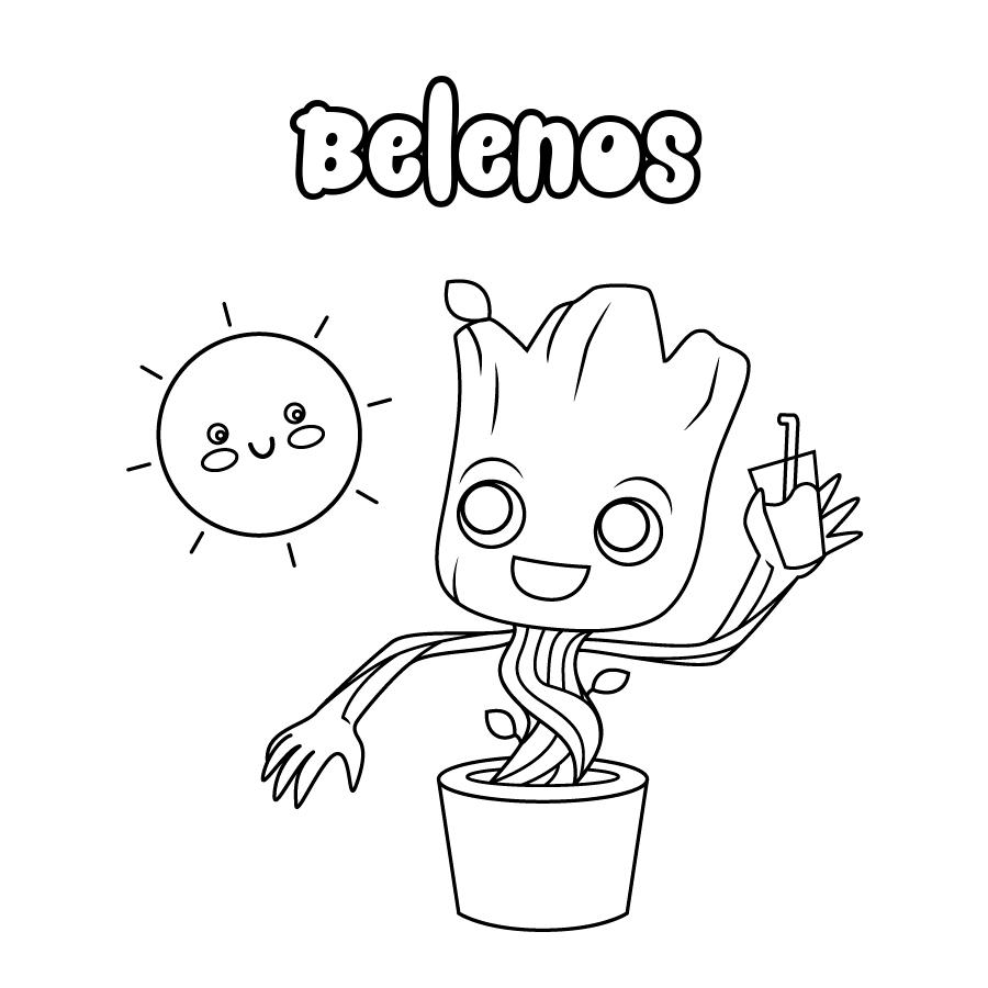Dibujo de Belenos