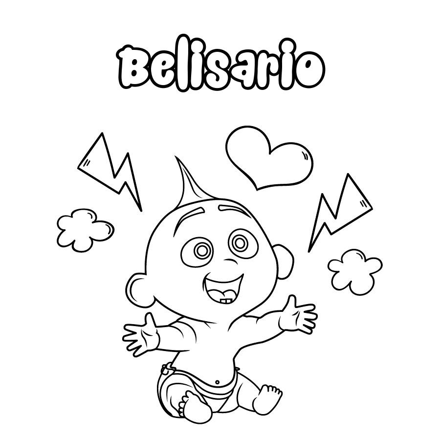 Dibujo de Belisario