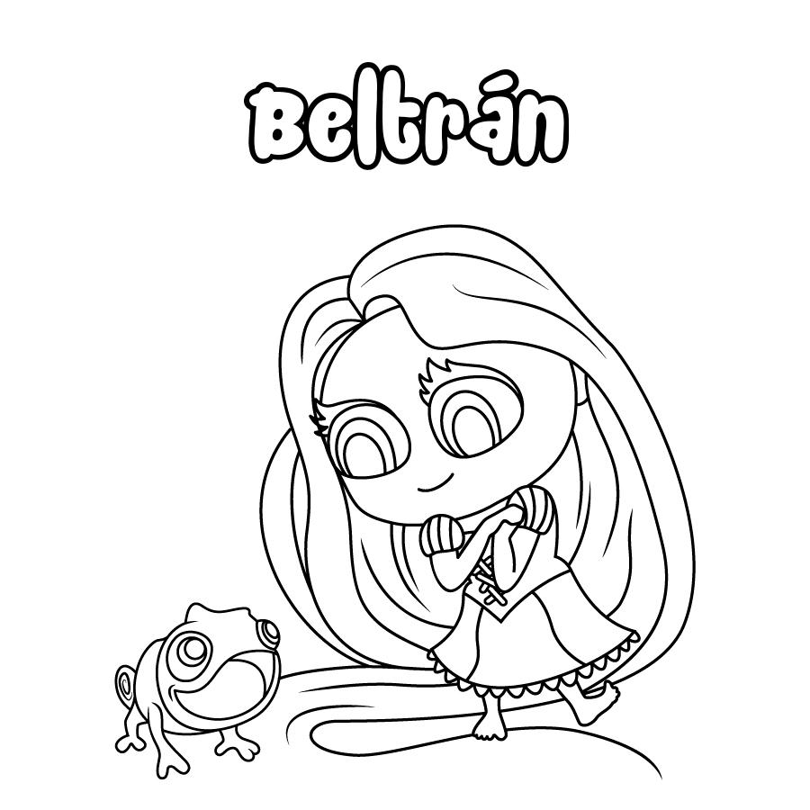 Dibujo de Beltrán