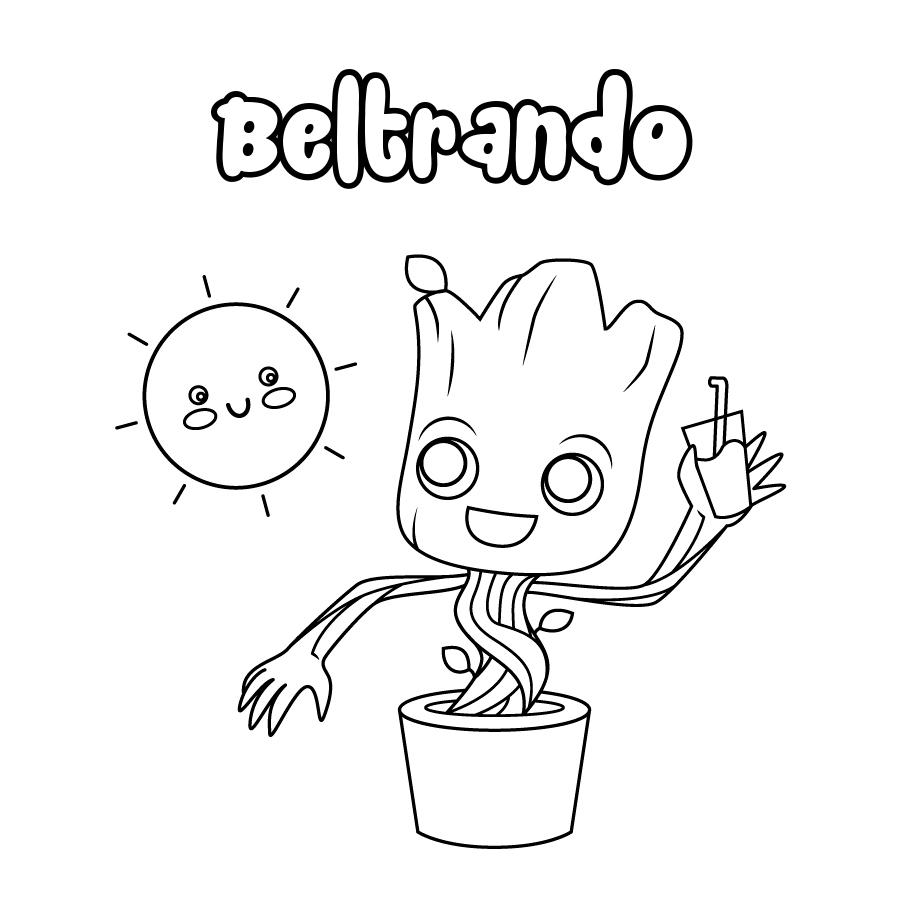 Dibujo de Beltrando