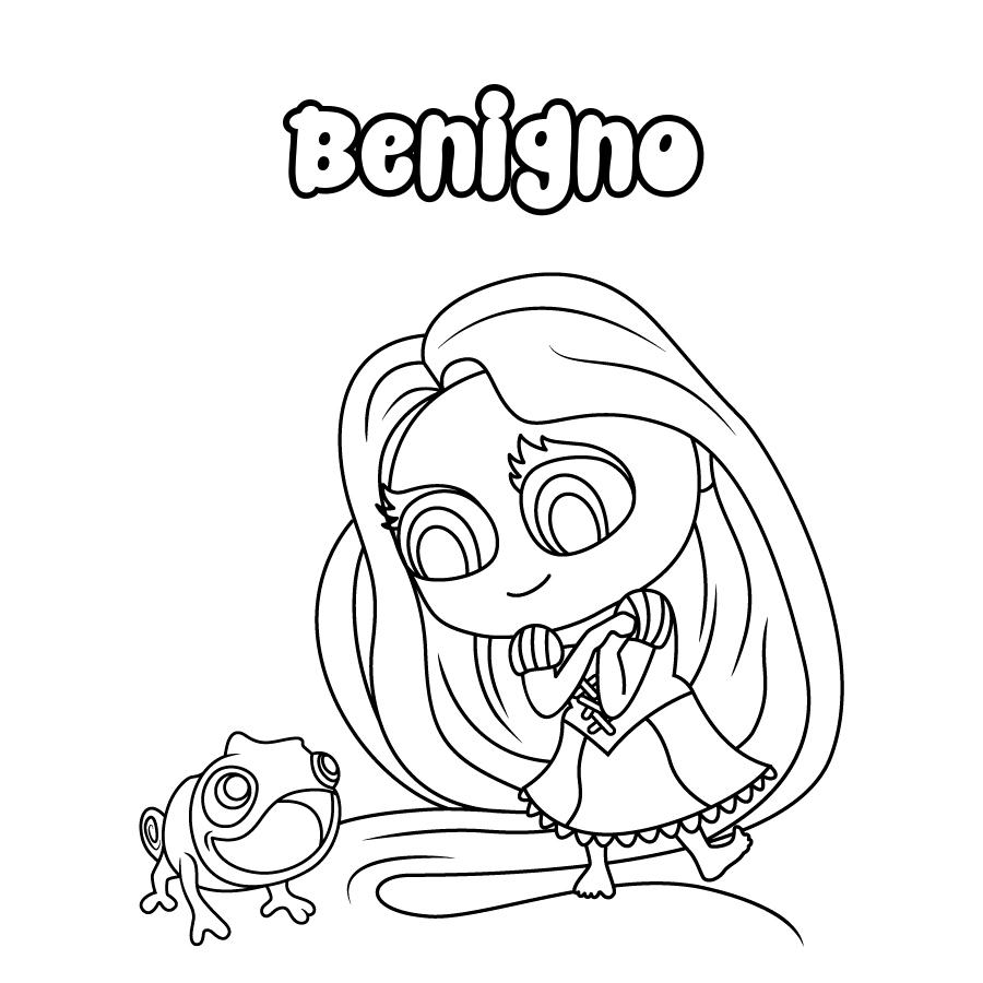 Dibujo de Benigno