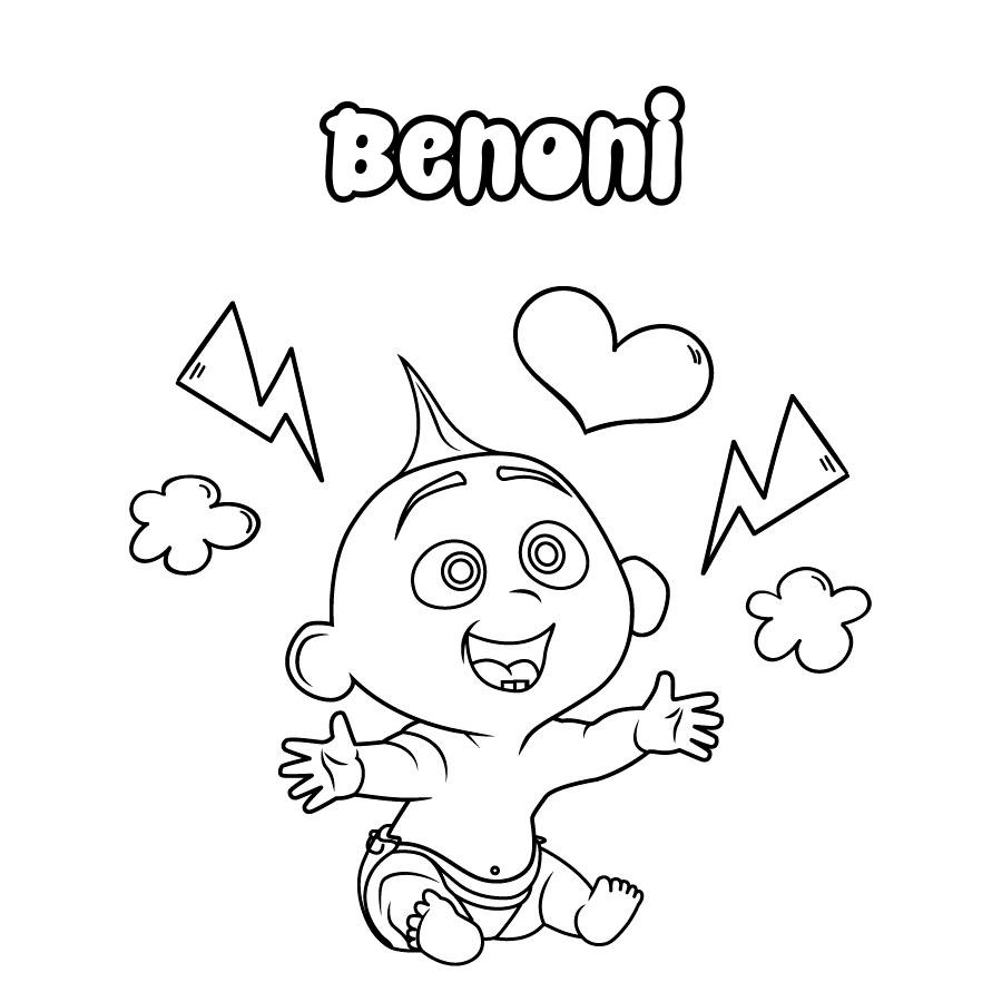 Dibujo de Benoni