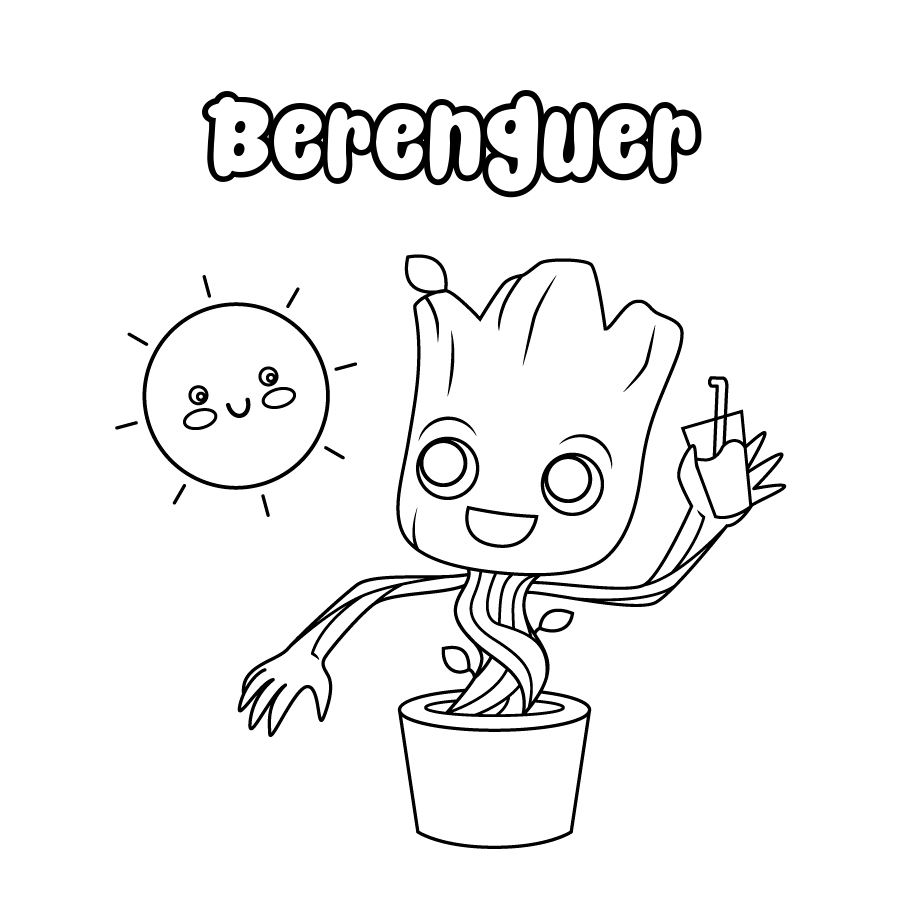 Dibujo de Berenguer