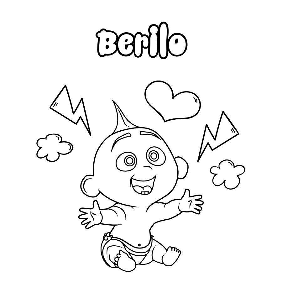 Dibujo de Berilo