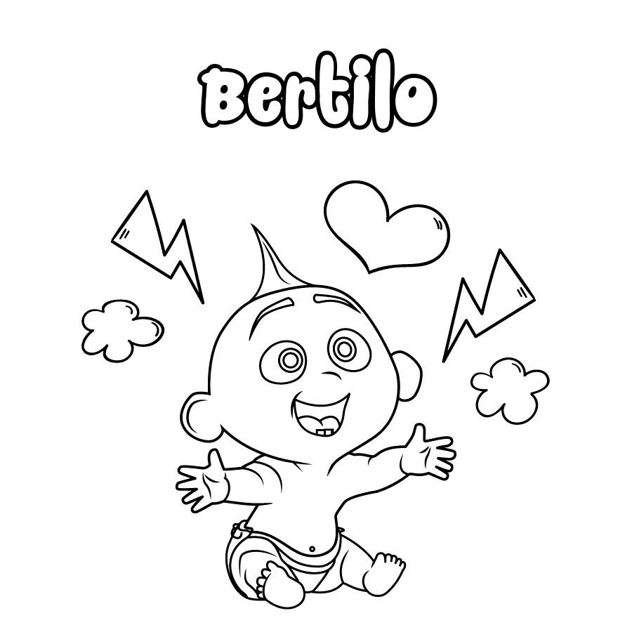 Dibujo de Bertilo