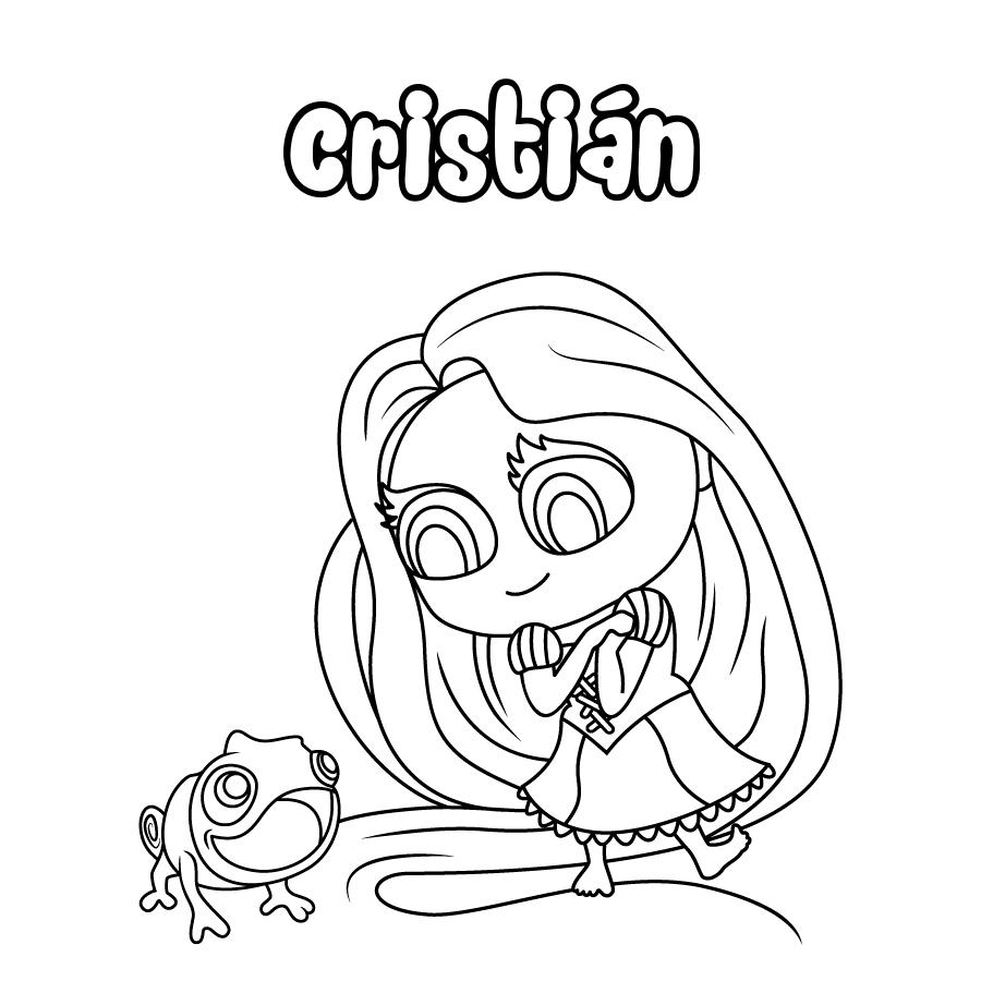 Dibujo de Cristián