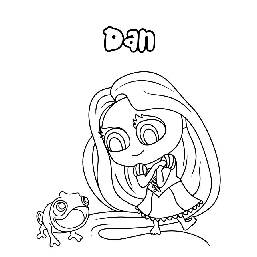 Dibujo de Dan