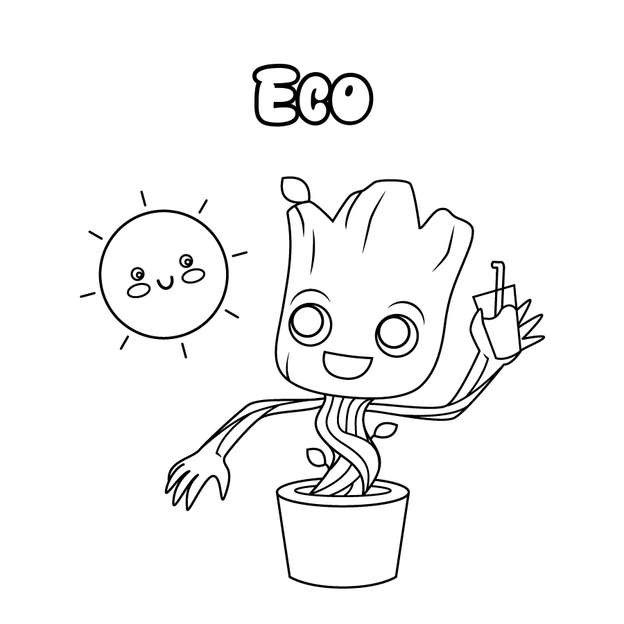 Dibujo de Eco