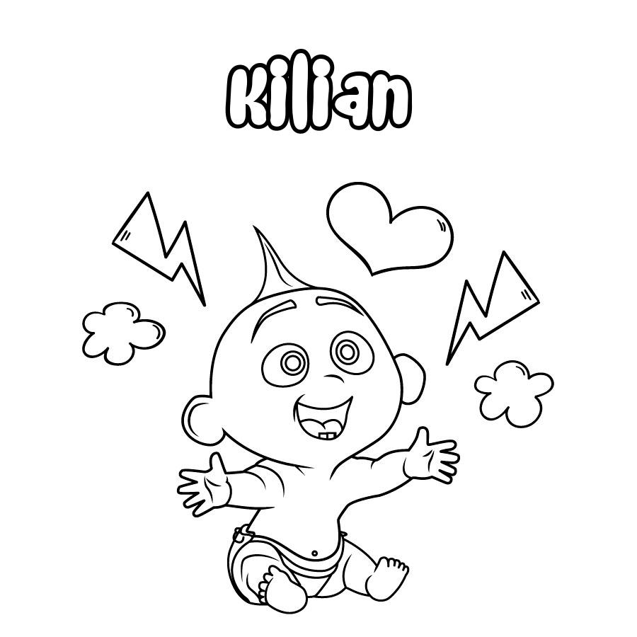 Dibujo de Kilian