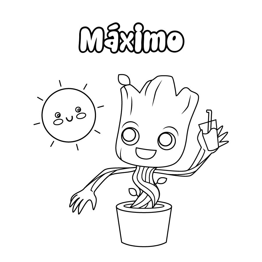 Dibujo de Máximo